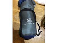 Eurohike adventurer 200 sleeping bag hardly used