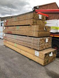 treated timber / batten