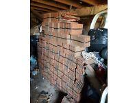 1000 roof tiles in packs of 12