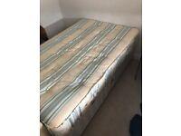 3/4 divan bed and mattress