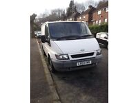 Ford Transit Van for sale or swap with LHD car. Genuine low mileage 76 K miles only
