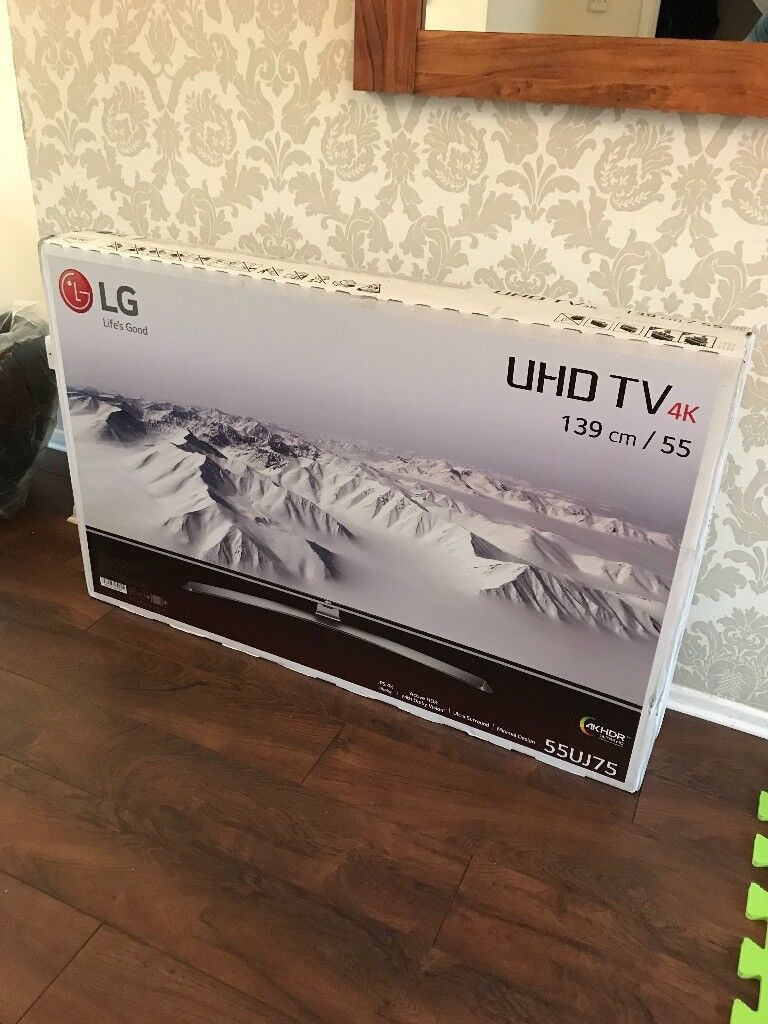 LG 55UJ750V 55 inch 4K Ultra HD HDR Smart LED TV