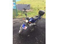 125cc Honda motorbike