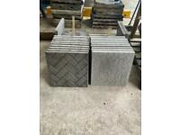 •NEW• SQUARE PAVING SLABS / FLAGS / STEPPING STONES - VARIOUS DESIGNS / PATTERNS