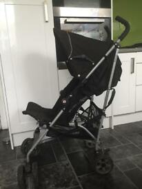 Mamas and papas Pulse buggy/pushchair with raincover and cosy tows