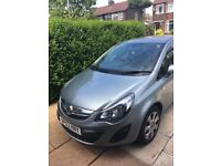 Vauxhall corsa 2014 (63plate) 1.2 automatic silver