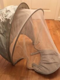 Sunshield with insect net for pushchair / stroller - by Mamas and Papas