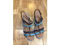 """Bellissimo"" Ladies Wedge Sandals"