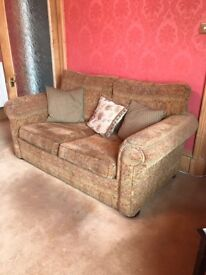 Two and three seater sofas for sale
