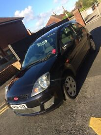 Mk6 Ford Fiesta 1.25 ST back bumper panther black with dint in passenger side arch drives amazing.