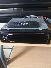 Car stereo with remote perfect working order bargain