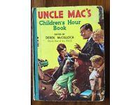 Vintage Uncle Mac's Children's Hour Book