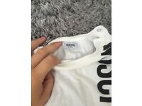 Baby moschino long sleeved top