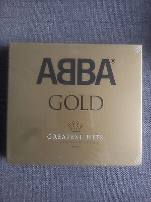 ABBA Gold Greatest Hits 3 CD Deluxe Edition SEALED