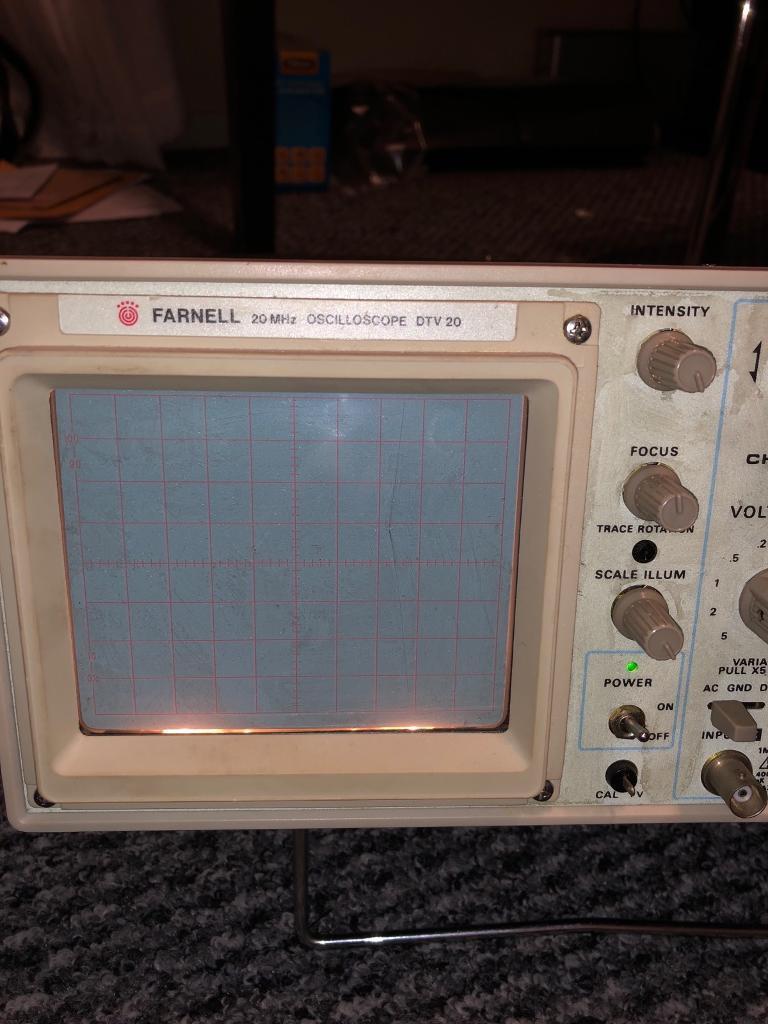 Farnell Oscilloscope 20MHz DTV 20