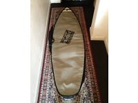 Surfboard travel bags single/dbl also 3/2 Wetsuit