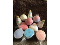 Small bath bombs £2 each or 3 for £5 or 6 for £10!