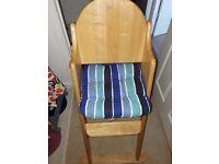 East coast high chair good condition