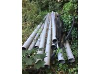 160mm soil pipe (70metres total length) for sale