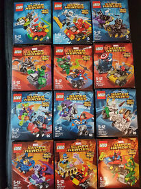 BRAND NEW DISCONTINUED Lego Mighty Micros! All 12 of them!!