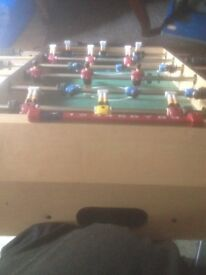 Table Football Game (School Holidays Are Coming!)