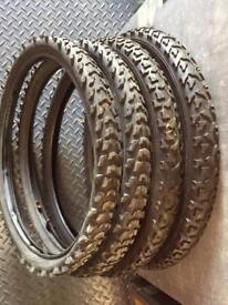 """20 """" BMX Tyres"""