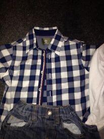 Boys age 5-6 clothes. RL Polo/Hill-finger £25