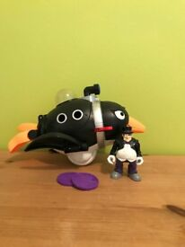 Imaginext The Penguin Sub with Penguin Mini Figure
