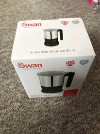 Swan Automatic Milk Frother NEW IN BOX