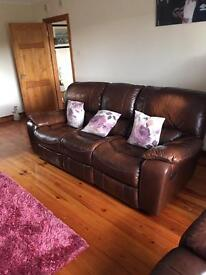3-1-1 - Recliners - Quality Leather Suite - MUST GO!!!!!!