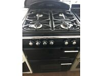 60CM BLACK LEISURE GAS COOKER