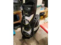Powercaddy electric trolley and bag