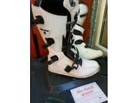 Wolf motocross boots