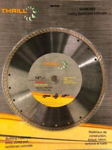 "BLOW OUT SALE - 12"" Diamond Cutting Blades - Brick / Concrete Cutting"
