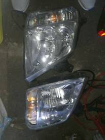 Vauxhall meriva headlights