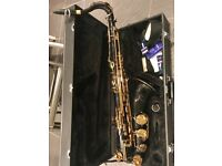 Used Black & Gold Tenor Saxophone For Sale