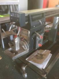 "10"" Shopmate radial arm saw"