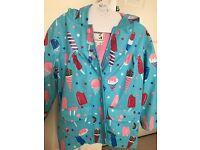 Girls raincoat by Hatley