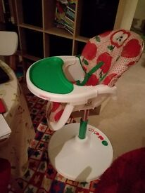 Cossatto high chair 360