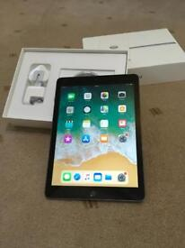 Ipad 2017 WiFi+ Cellular - As New - Boxed - EE - Warranty Oct 2018