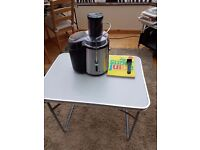 Andrew James Professional Power Juicer and juice book