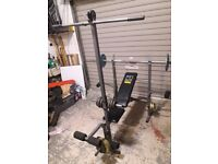 Weider 244 weights bench.