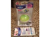 Brand new unopened Milton mini portable soother steriliser