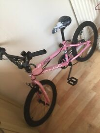 Girls bmx style bike