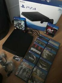 PS4 with 12 Games
