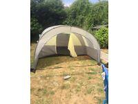Full camping set up 4 man tent etc