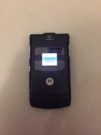 Motorola V3 Razr Black Unlocked