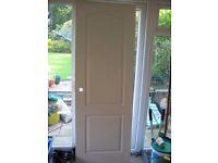 5 White Woodgrain Internal Doors