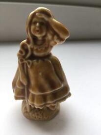 WADE Jack and bo peep shepherdess pottery figures