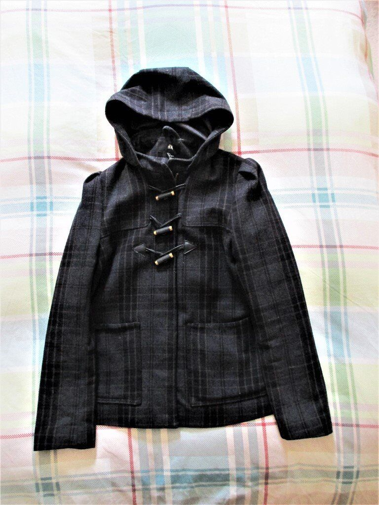 Wool Blend Winter Jacket (H&M) - Size Euro 36 (UK 8)